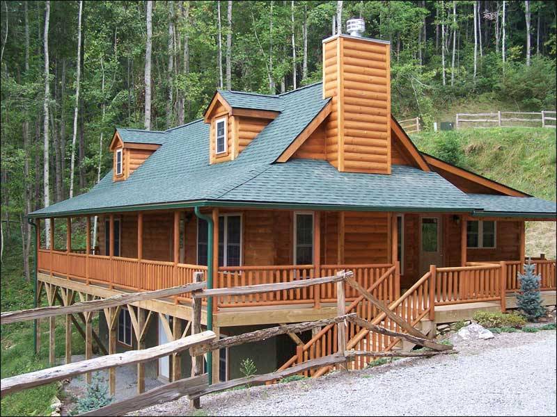 Grandfather mountain log homes for Banner elk home builders